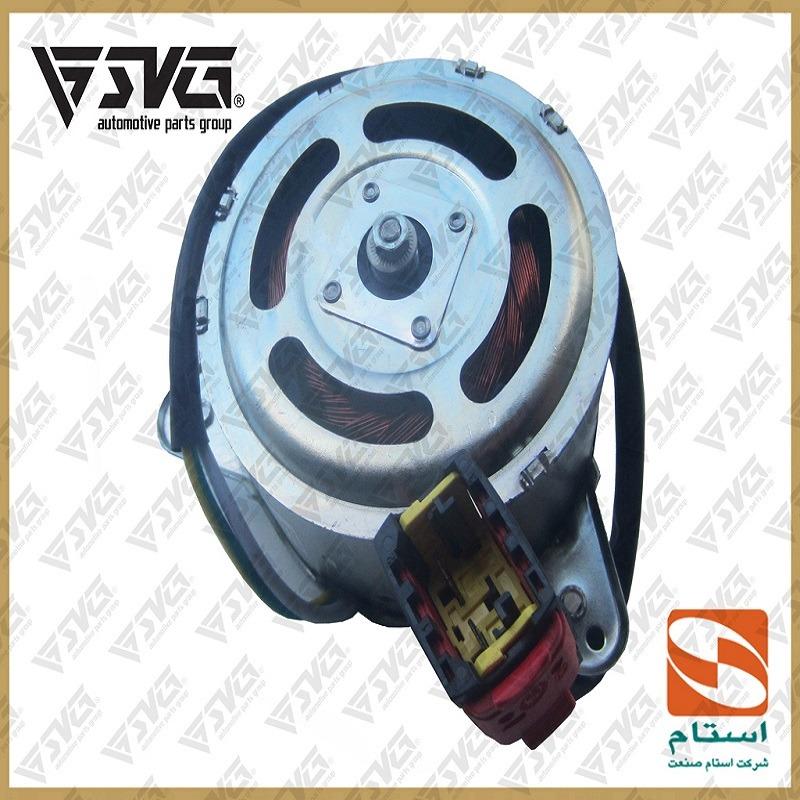 موتور فن رادیاتور پژو 206 استام صنعت
