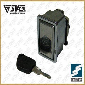 قفل صندوق پژو 405 وپژو پارس با یک کلید یدک فراکلون