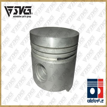 پیستون طرح جدید پژو 405 XU7 کامل با بوش بدون رینگ ( WVP ) پیستون ایران