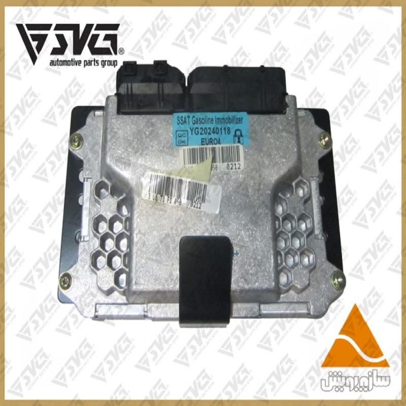 جعبه الکترونیکی موتور ایموبلایزر پژو 405 SSAT بنزین عظام