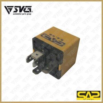 رله سیستم تهویه ( زرد ) 25 آمپر پژو 405 سوخت آما