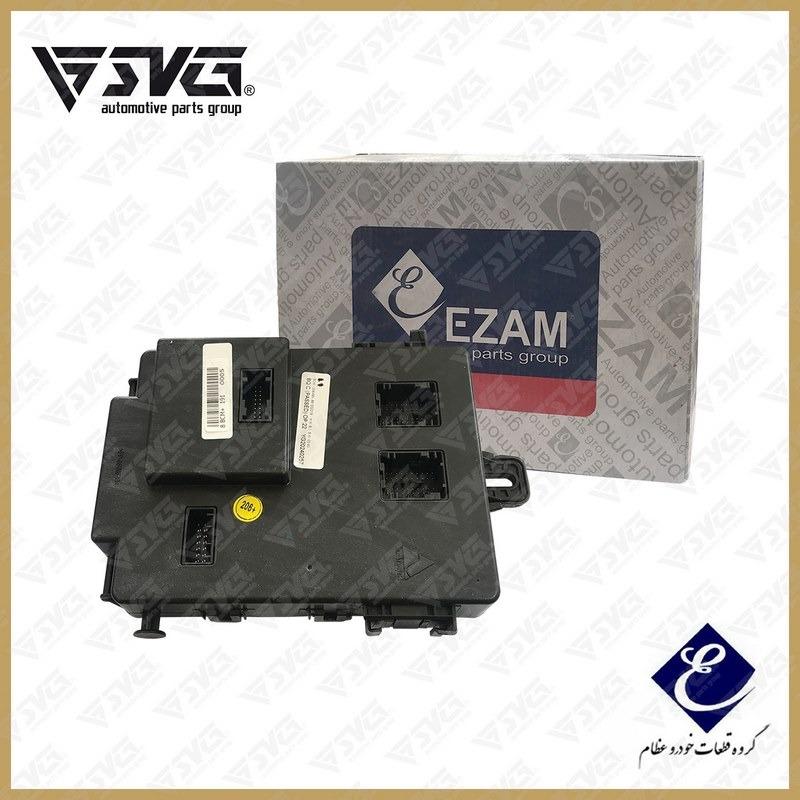 جعبه الکترونیکی BCM داخل اتاق پژو 206 پلاس عظام