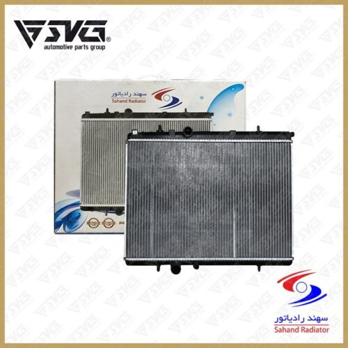 رادیاتور آب اتوماتیک پژو 206 سهند رادیاتور