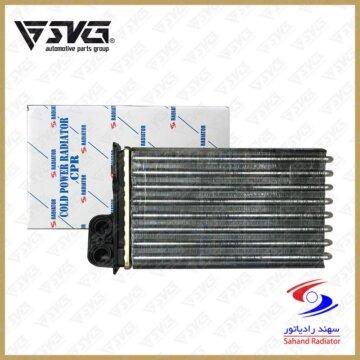رادیاتور بخاری آردی بدون خار کلد پاور 1201 پژو 405 سهند رادیاتور