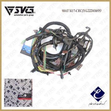 دسته سیم اصلی پژو 405 دو ایربگ عظام ( CEC SSAT )