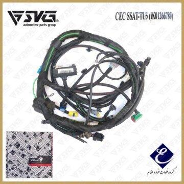 دسته سیم موتور پژو پارس تیپ 5 عظام ( CEC SSAT )
