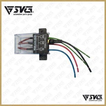 جعبه فیوزکامل انژکتوری داخل موتور همراه با درپوش پراید SVG