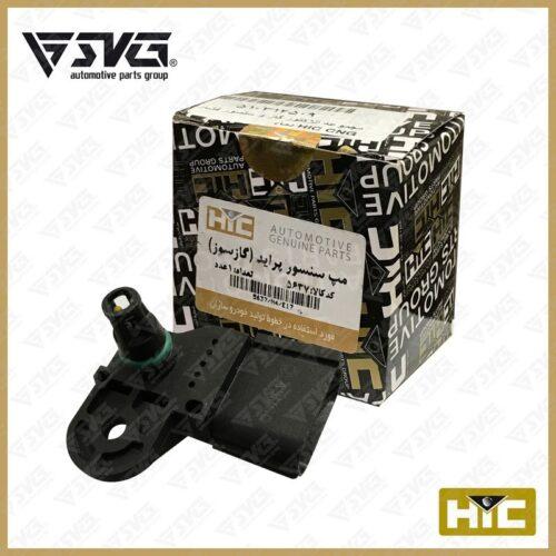 انژکتور گاز و سنسور فشار و دمای CNG ( مپ سنسور ) پراید HIC