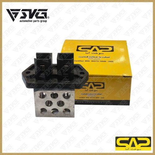 مقاومت فن دو دور فلزی ( طرح ال 90 ) پراید سوخت آما