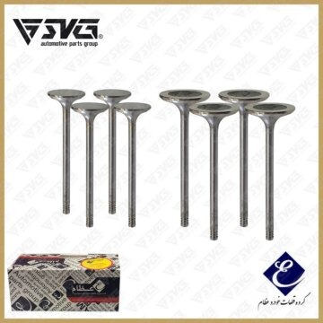 ست سوپاپ دود و بنزین تیبا S81 (ساوه-STYM) عظام