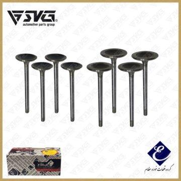 ست سوپاپ دود و بنزین روآ گازسوز OHVG ( ساوه - STYM ) عظام