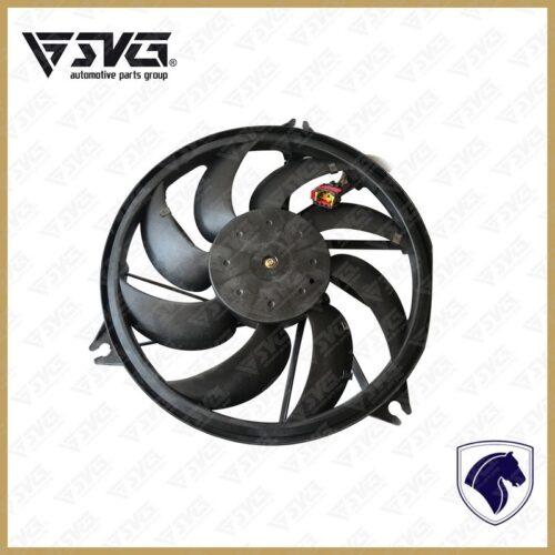 موتور فن رادیاتور و پروانه رادیاتور پژو 206 ایساکو
