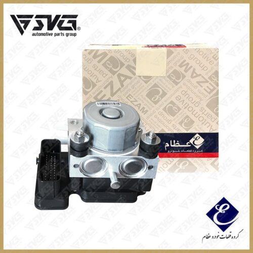 مجموعه مدولاتور ABS سمند ( بلوک هیدرولیک ) با پایه نگهدارنده یوفین عظام