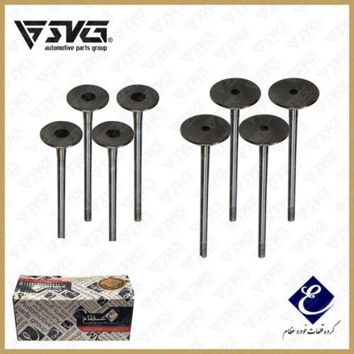 ست سوپاپ دود و بنزین ( ساوه-STYM ) EF7 عظام