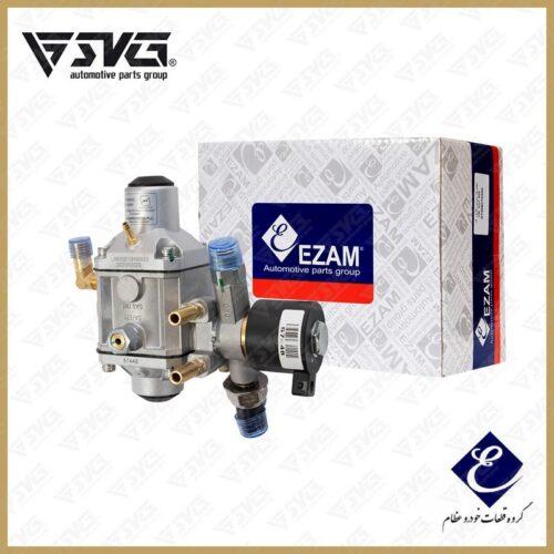 مجموعه سیستم رگلاتور گاز XU7 405 عظام