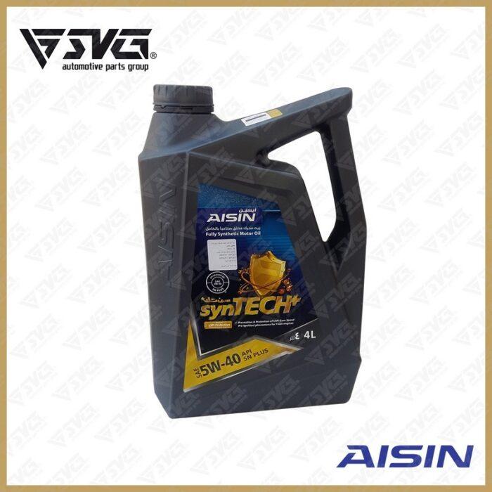 روغن موتور 4 لیتری API SN ( فول سنتتیک ) AISIN 5W40