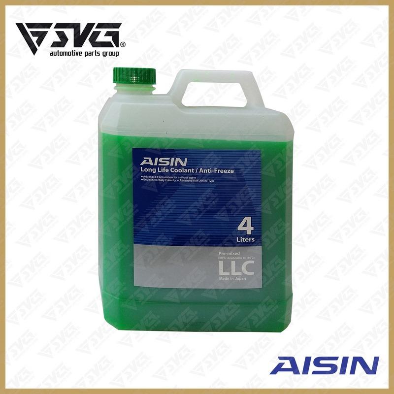 ضد یخ 4 لیتری سبز 50% AISIN