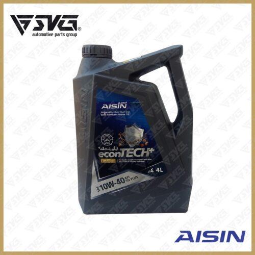 روغن موتور 4 لیتری API/SN ( نیمه سنتتیک ) AISIN 10W40