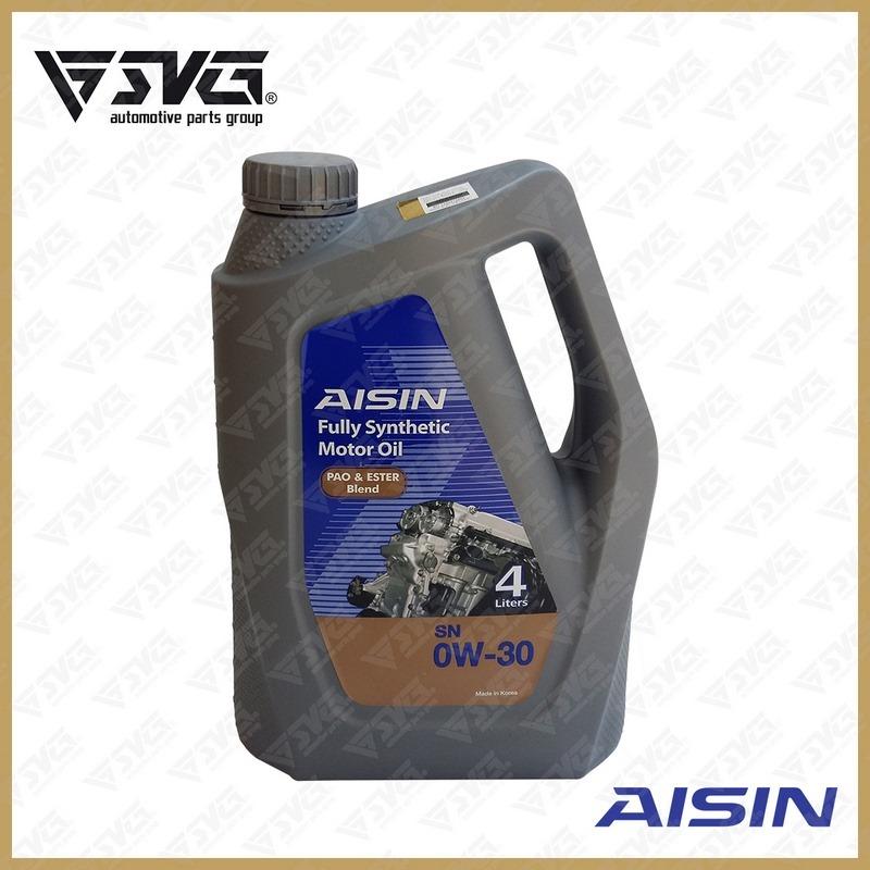 روغن موتور 4 لیتری API/SN ( فول سنتتیک ) AISIN 0W30