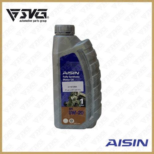 روغن موتور 1 لیتری سوپر تک API/SN-cf ( فول سنتتیک ) AISIN 5W20