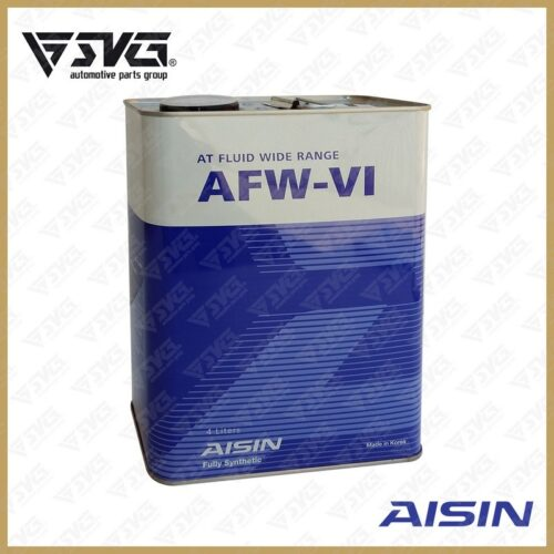 روغن گیربکس 4 لیتری ( فول سنتتیک ) اتوماتیک AISIN DEXRON-VI